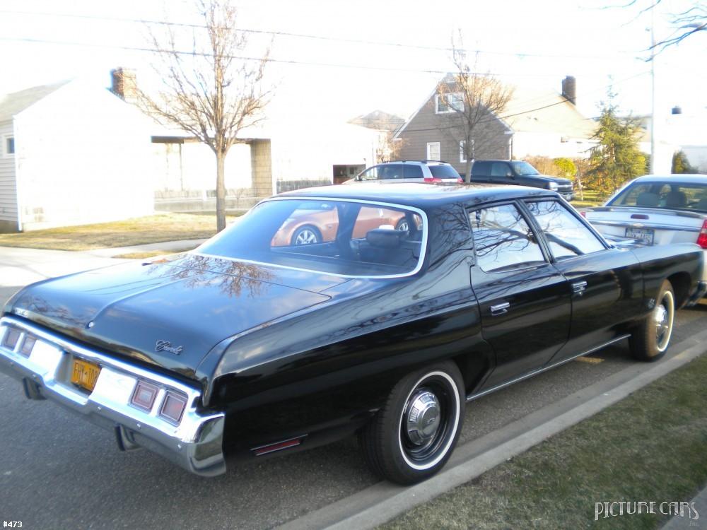 PICTURE CAR SERVICES LTD | Chevrolet Bel Air Black 1972 ...