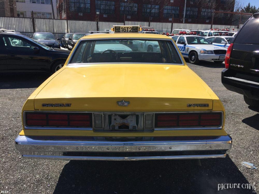 Picture Car Services Ltd Chevrolet Caprice Yellow 1987