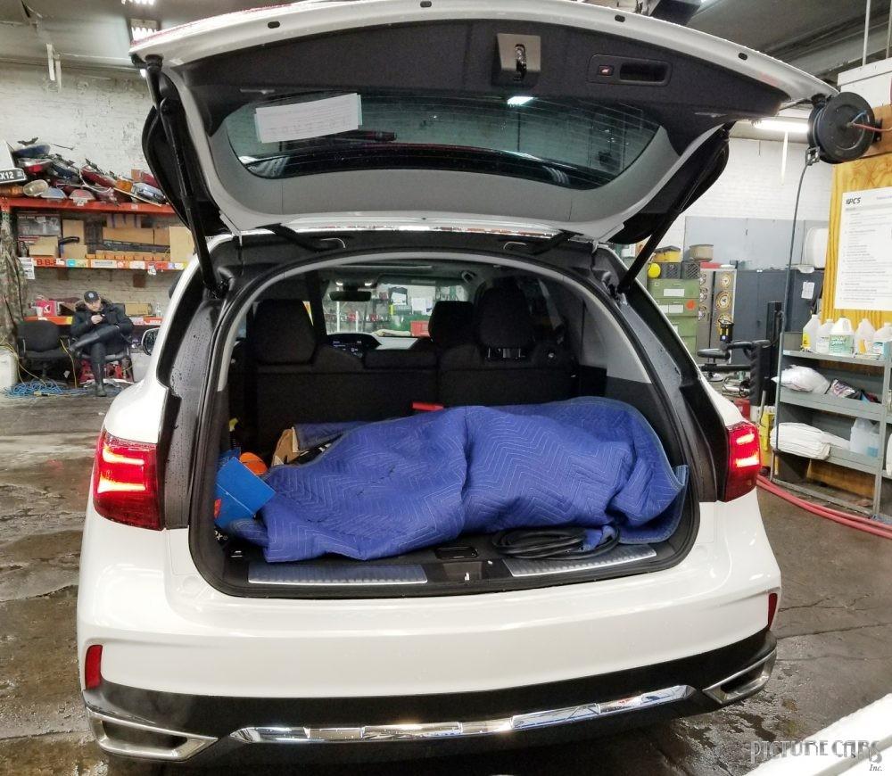 Acura MDX White 2018 AWD