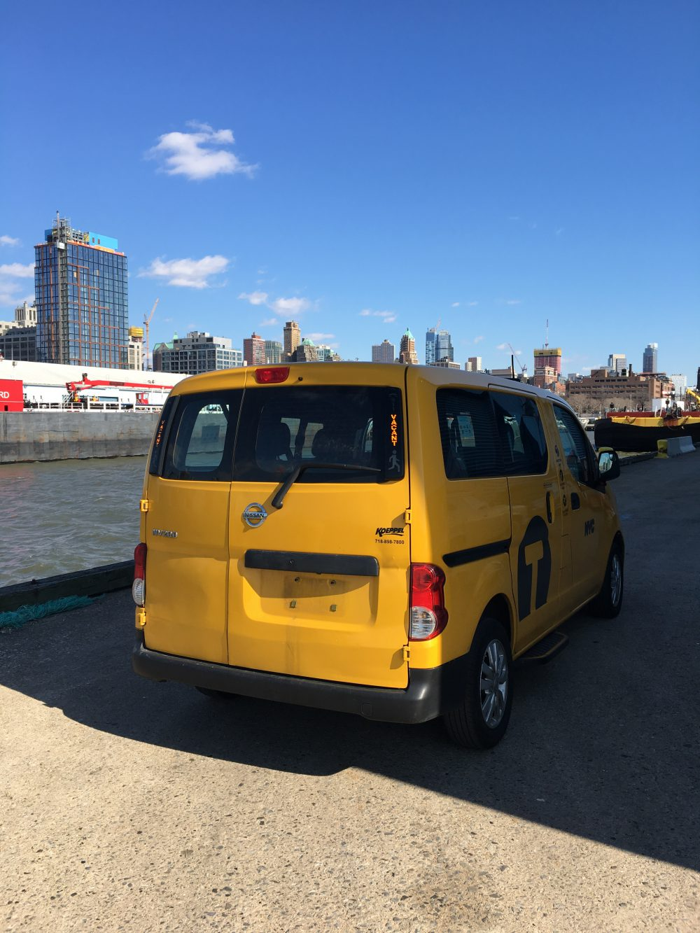 Nissan NV200 Yellow 2014 Taxi